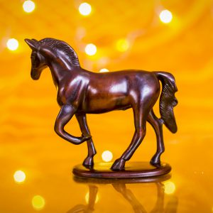 Decorative Horse Wooden Showpiece