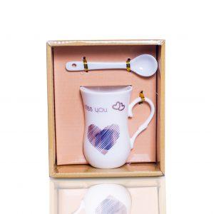 coffee mug with spoon