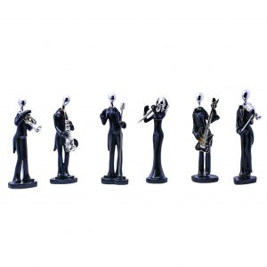 Rock Band Decorative Showpiece