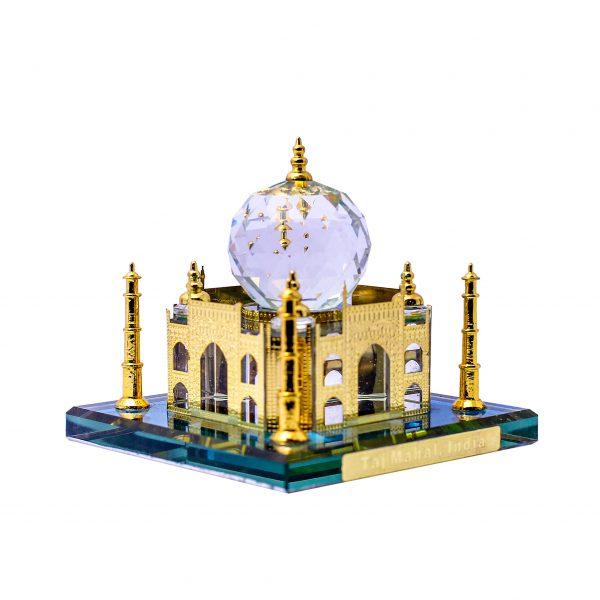 Miniature of Taj Mahal with multicolor effect to grace your office and home décor