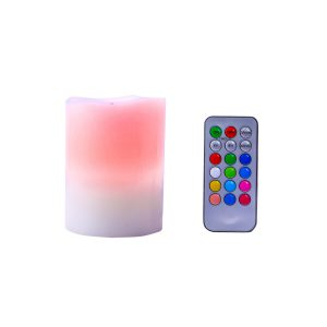 Colour changing candles