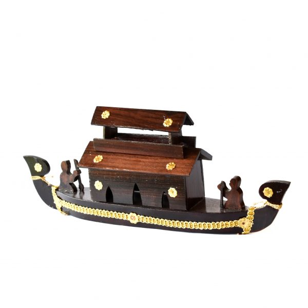 Decorative Wooden house boat