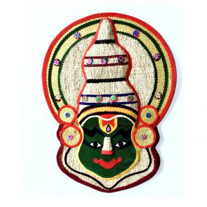 Kathakali face wall hanging