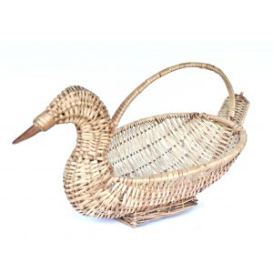 Peacock Shaped Fruit Basket