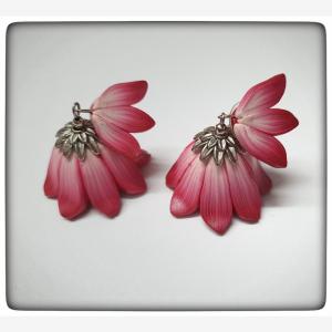 Lotus flower jhumka