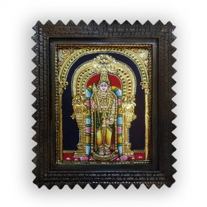 Lord Murugan painting