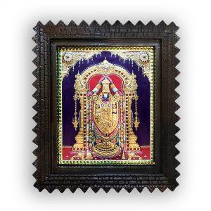 Lord venkateshwara painting