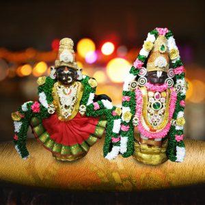 Tirupati Balaji and Padmavathi Devi