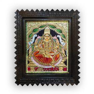 Gajalakshmi devi painting