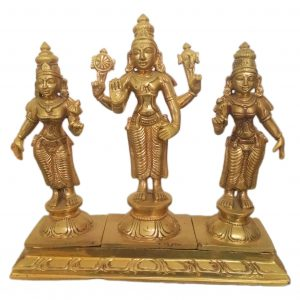 bronze perumal set