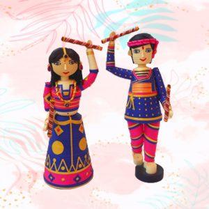 garba dancing dolls