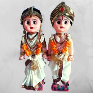 wedding couple dolls